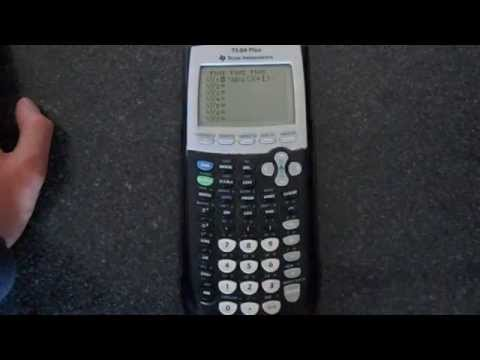 How to Graph an Absolute Value on a TI-84 Plus