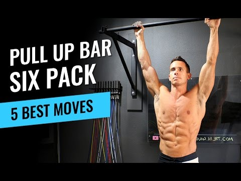 5 Pull Up Bar Moves to Get Six Pack Abs - Jump Rope Workout