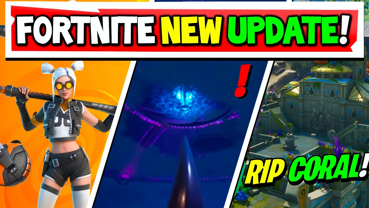 Fortnite Update: Ring Of Fire! Tilted Towers Returning EVENT! But Say Goodbye to Coral...