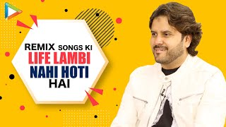 Javed Ali on Remix Vs Original | RESPONDS to Sonu Nigam calling him an UNDERRATED SINGER | Mohd Aziz