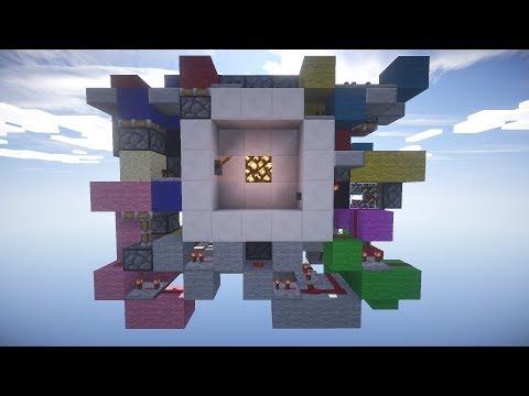 KOV3RT 3x3 combination door Minecraft Xbox 360 TU16 & 1.7.9