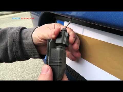 How to Change License Plate Bulb Lights VW Cars