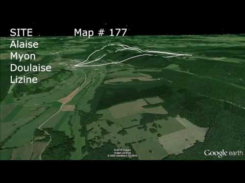 fly over Mont Poupel & Alaise cluster