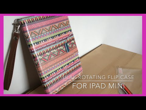 Review: ULAK iPad Mini 360 Rotating Flip Case