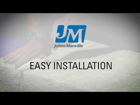 Johns Manville Mineral Wool Overview - Properties and Installation