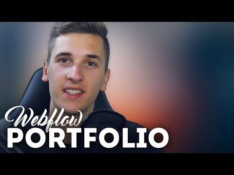 I create my Portfolio in Webflow • Webflow Tutorial