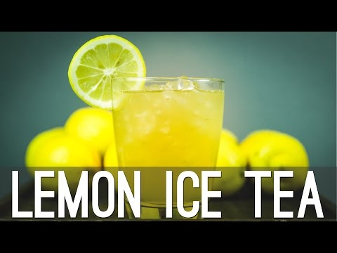 Homemade Lemon Ice Tea Recipe | That's Tasty