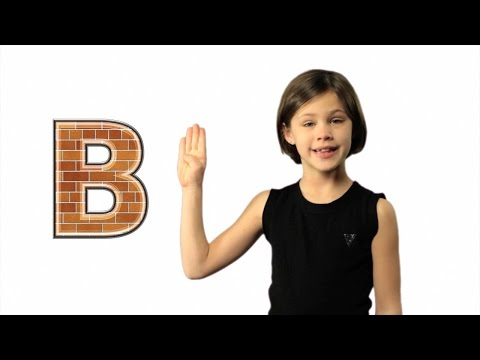 ASL ABC Song - Learn Sign Language Alphabet