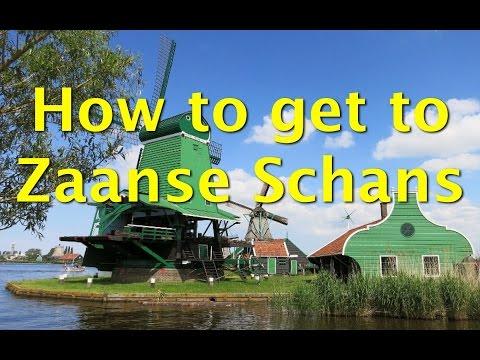 The easiest way to get to Zaanse Schans