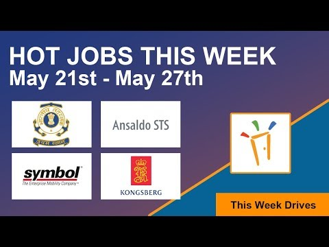 Freshersworld Hot Jobs Of The Week-(May 21st – May 27th) – Govt Jobs, Ansaldo STS, Kongsberg Digital
