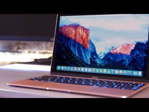 Macbook Rose Gold Review and Screenshot