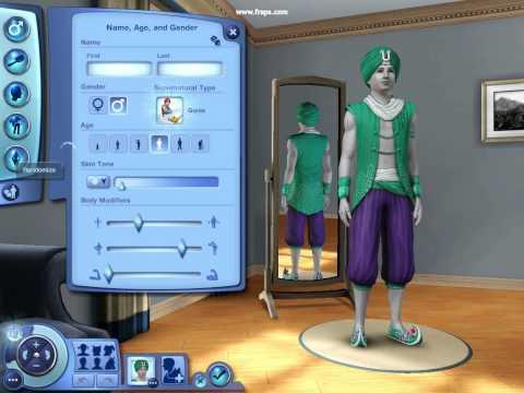 The Sims 3 - Creating a Genie Sim