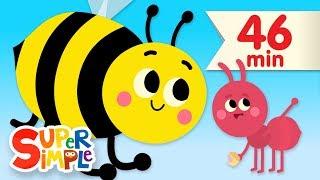 The Bees Go Buzzing | + More Kids Songs \u0026 Nursery Rhymes