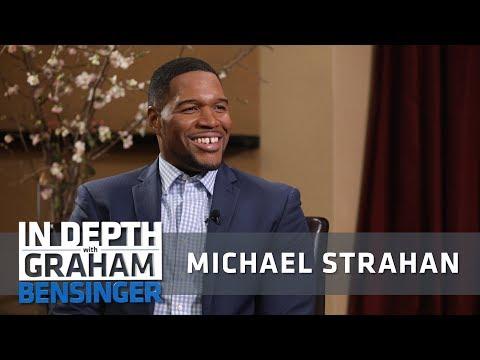 Michael Strahan: Talking to my socks