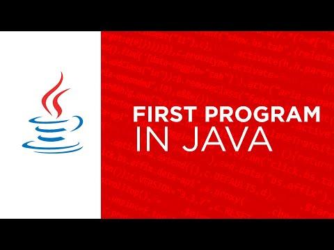 core java - welcome to java program