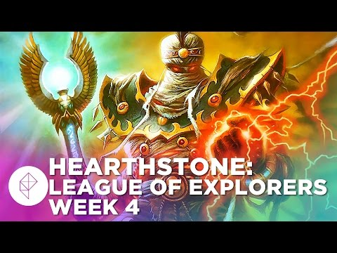Building the WORST Hearthstone Deck EVER - League of Explorers Week 4 Gameplay