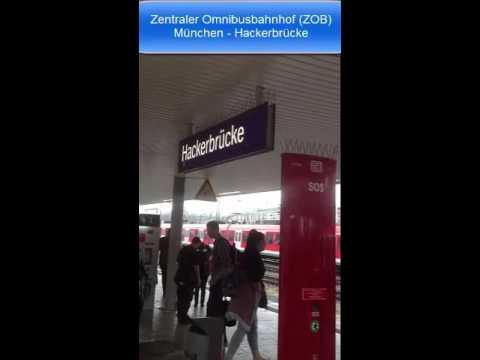 Zentraler Omnibusbahnhof ZOB München Hackerbrücke