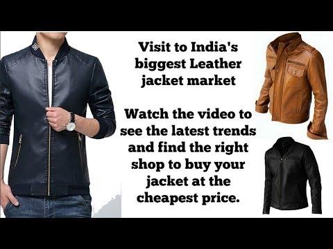 Leather Jackets in Delhi Wholesale Market I Casual/Daily Jacket