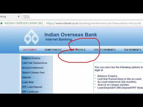 How to Register IOB Mobile Banking - Tamil Banking