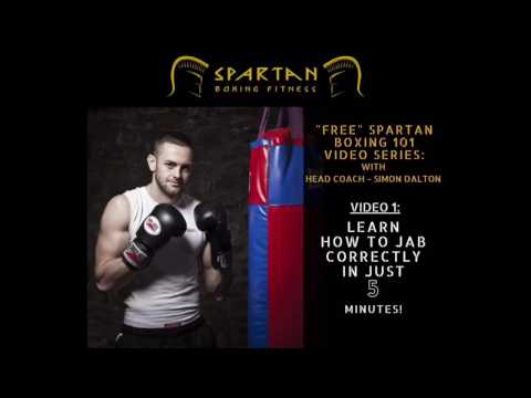 BOXING 101 - Learn How To Jab Correctly in just 5 Minutes!