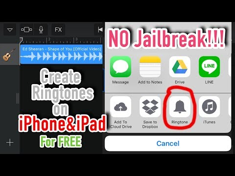 How to create your own ringtones on iPhone and iPad for free, No jailbreaking