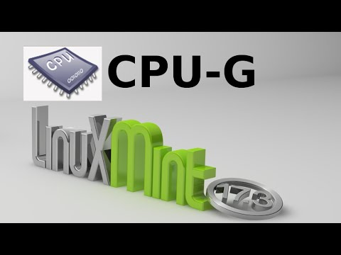 CPU-G : Find Hardware Details About Your Computer in Linux Mint / Ubuntu