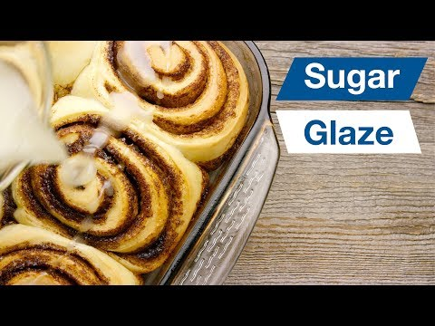 Cinnamon Bun Sugar Glaze Recipe || Le Gourmet TV Recipes