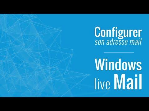 Configurer une adresse mail sur Windows live mail