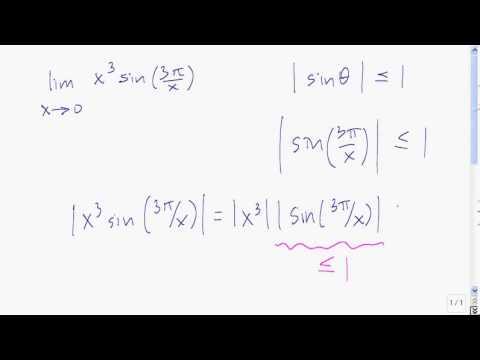 Squeeze Theorem example