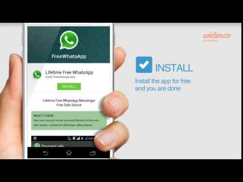 Lifetime free WhatsApp - www.freewhatsapp.asia