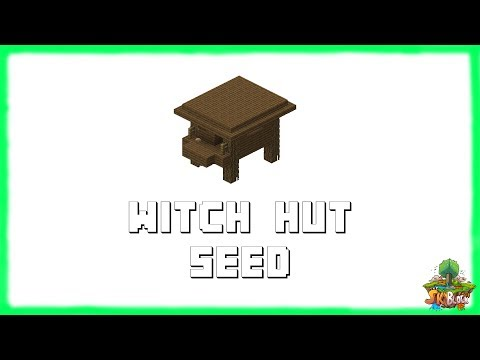 Minecraft 1.12.2 Seeds: Best Witch Hut Seed | Epic Seed | Minecraft 1.12.2