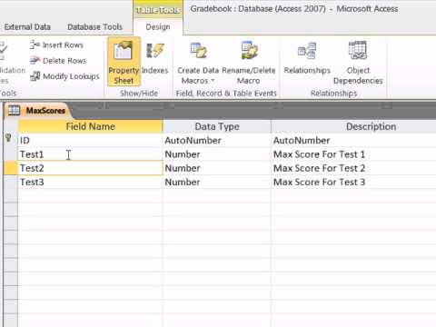 Office 2010 Class #48: Import Excel Data Into Access & Compare & Contrast Formulas in Access & Excel
