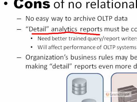 The Pros and Cons of Using a Relational Data Warehouse in SQL Server 2008/R2 Analysis Services