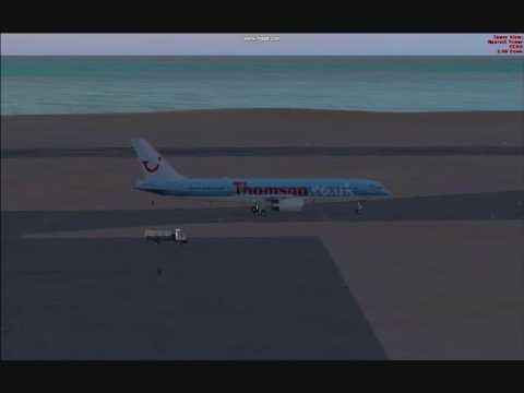 Airline UK - Thomson Fly 757 Lanzarote