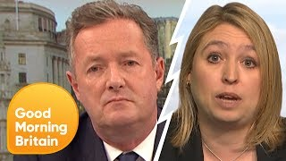 Karen Bradley Refuses to Answer Questions on Police Cuts | Good Morning Britain