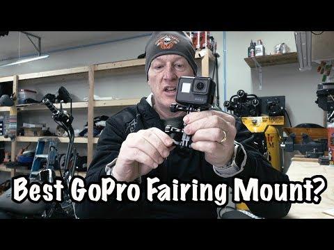 Best Harley-Davidson Fairing GoPro & Action Camera Mount? Rickrak 360 Deluxe