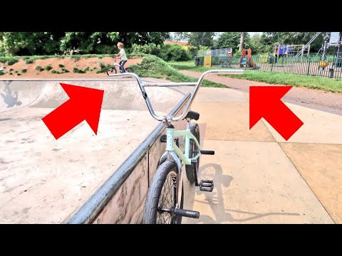BMX WITH NO GRIPS!?