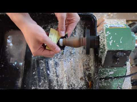 How To Make A: Goose Call: Lathe Work