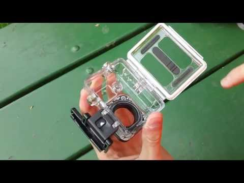 How to Take Back Door (Case) Off GoPro Hero Camera