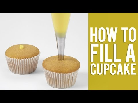 How to Fill a Cupcake