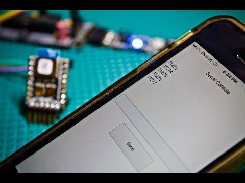 Wireless Arduino Serial Communication with Bluetooth Low Energy!