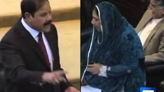 Dunya News- KP assembly burst into laughter over woman MPA
