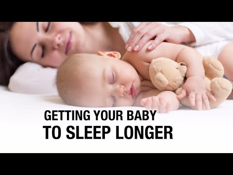 The secret to get your baby to nap or sleep longer