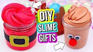 DIY SLIME GIFTS! How To Make Slime Gifts for Christmas!
