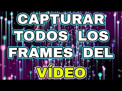 Cómo extraer todos los frames/fotogramas de un video con VLC. Trucos VLC Player!