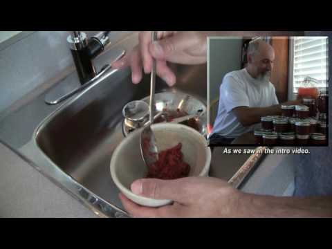 Using a Food Mill to Create Purée: How to Make Crab Apple Butter -- ASMR -- Soft Spoken, Scratching