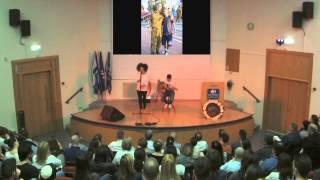 """ליאת אליהו & גל שלו - """"בניה"""" (אורי שכיב) הופעה במכון טכנולוגי HIT חולון"""
