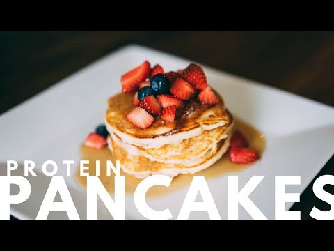 HOW TO MAKE PERFECT PROTEIN PANCAKES : High Protein, Low Carb, Low Fat – FULL RECIPE