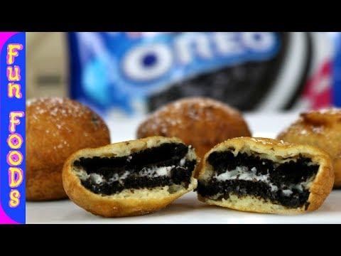 Deep Fried Oreo's | How to Deep Fry Oreo Cookies