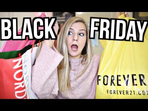 Black Friday Haul 2017! Urban Outfitters, Adidas, Topshop, Lululemon, Forever 21 and More!